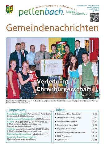 Pettenbach bekanntschaften weiblich # dbminer.net