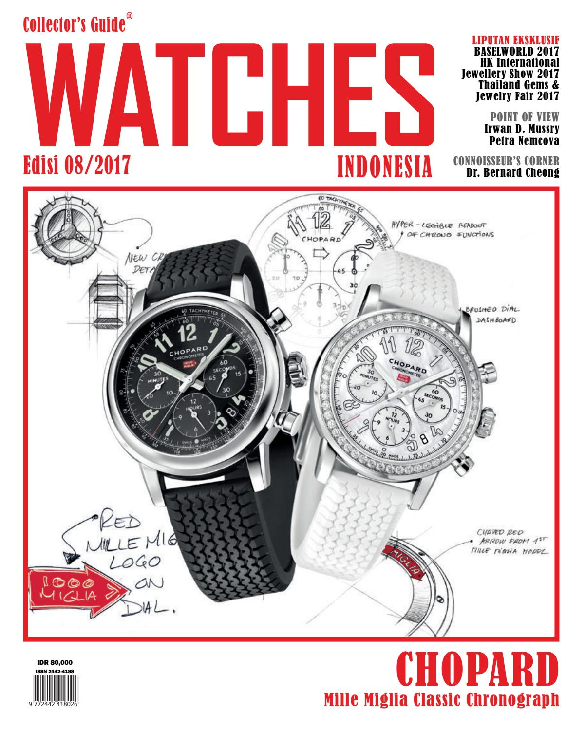 COLLECTOR S GUIDE WATCHES INDONESIA EDISI 08 2017 By