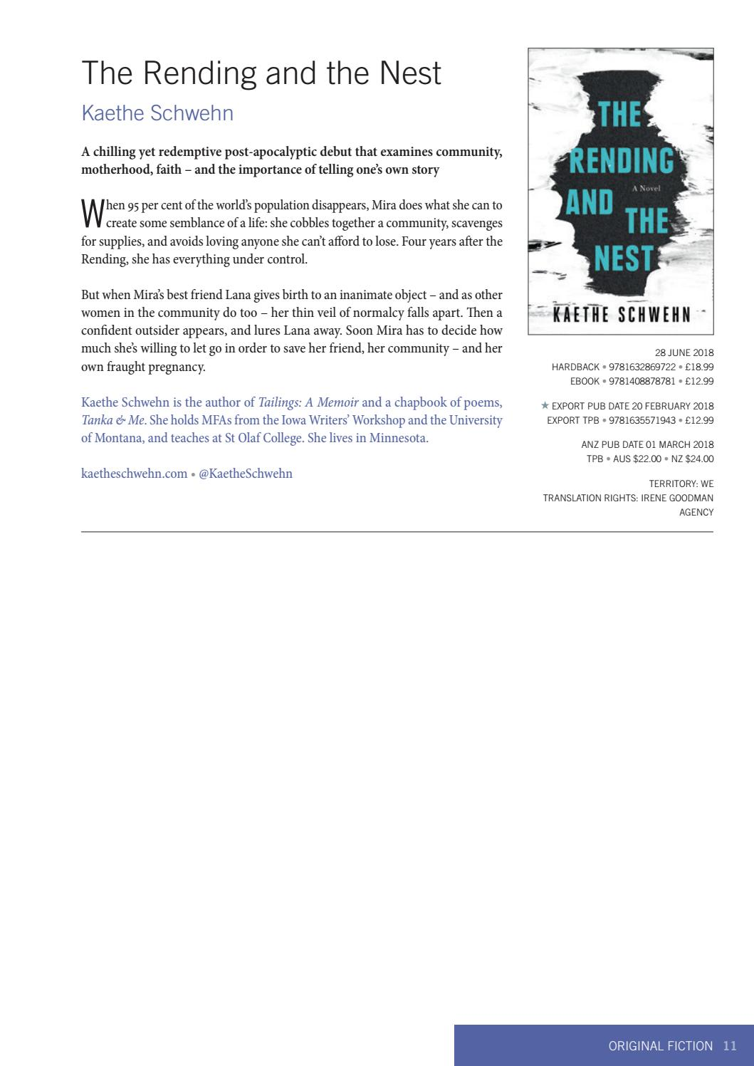 Bloomsbury Adult New Titles January - June 2018 by Bloomsbury