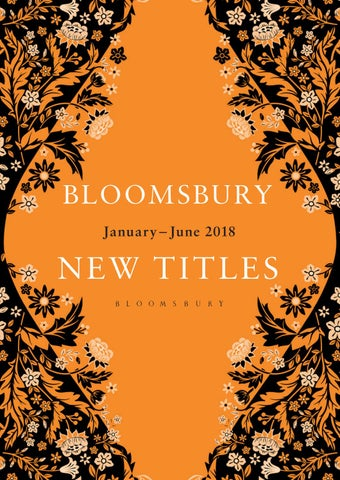 Bloomsbury Adult New Titles January June 2018 By