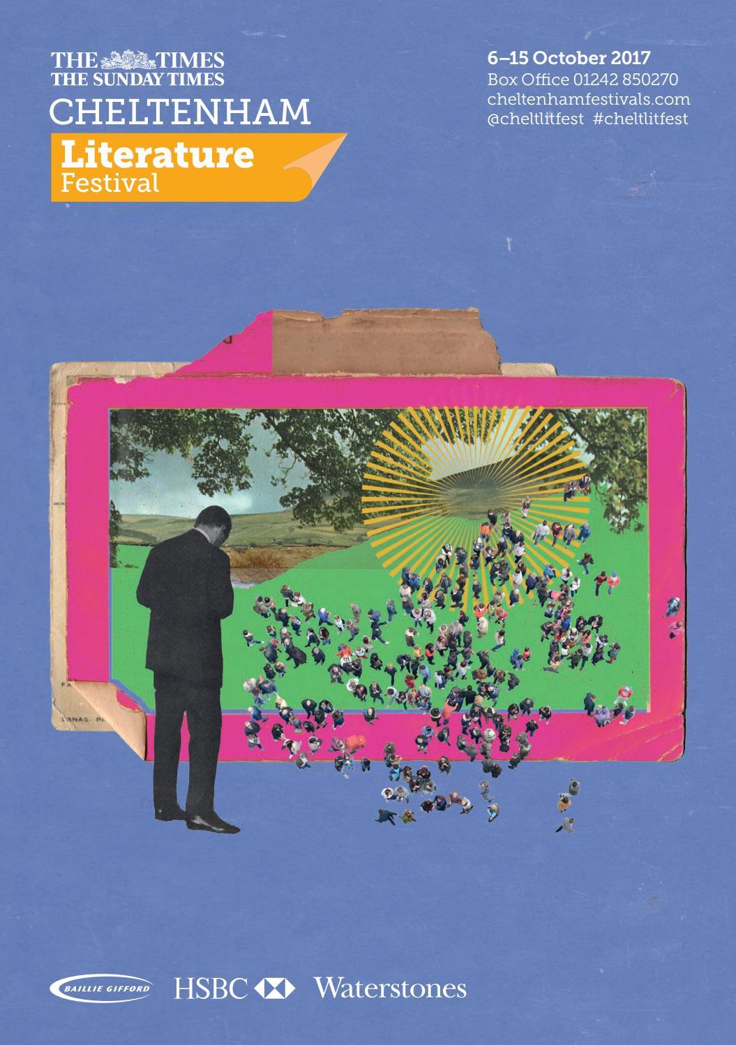Cheltenham Literature Festival Main Programme Brochure 2017 by