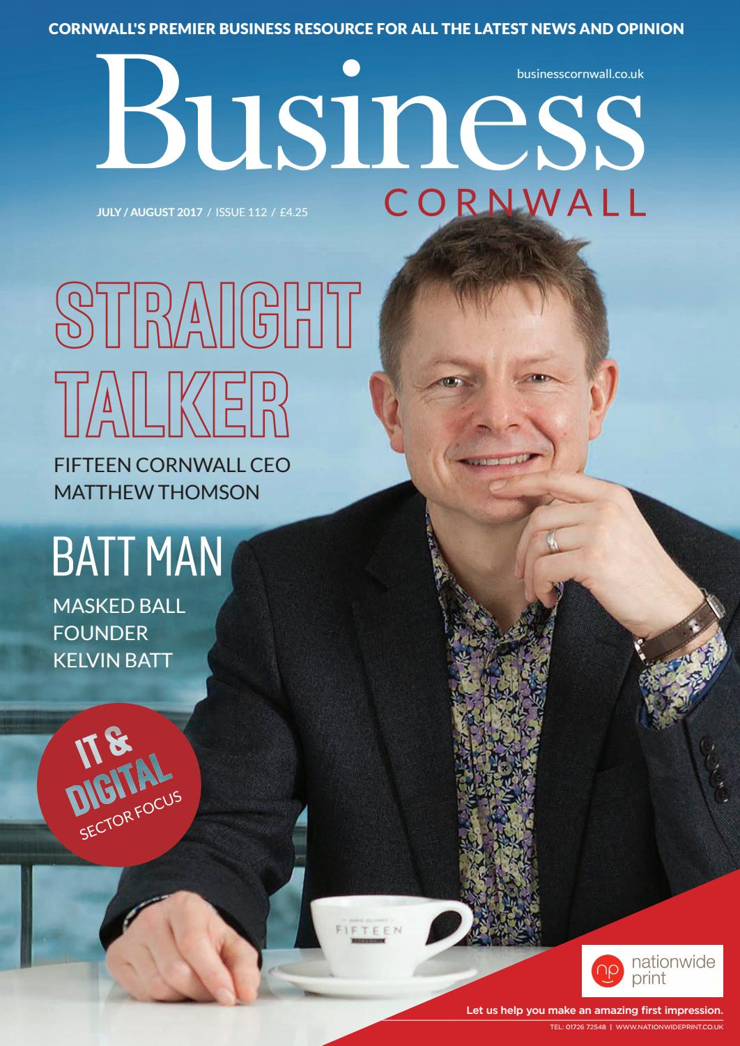 Business Cornwall July/Aug 17 by Business Cornwall - issuu