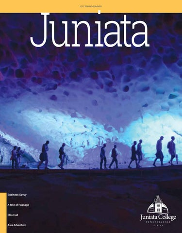 Cover of Juniata College Alumni Magazine