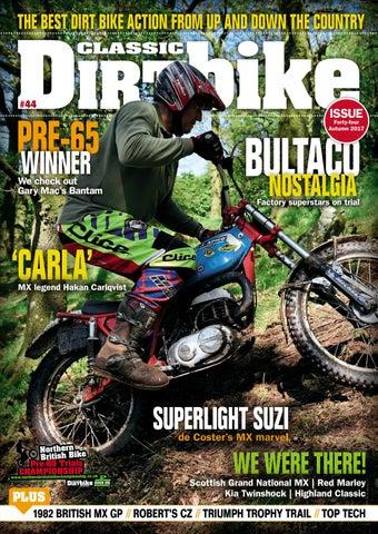 9560f55e5e877 Classic Dirt Bike Issue 44 Autumn by Mortons Media Group Ltd - issuu