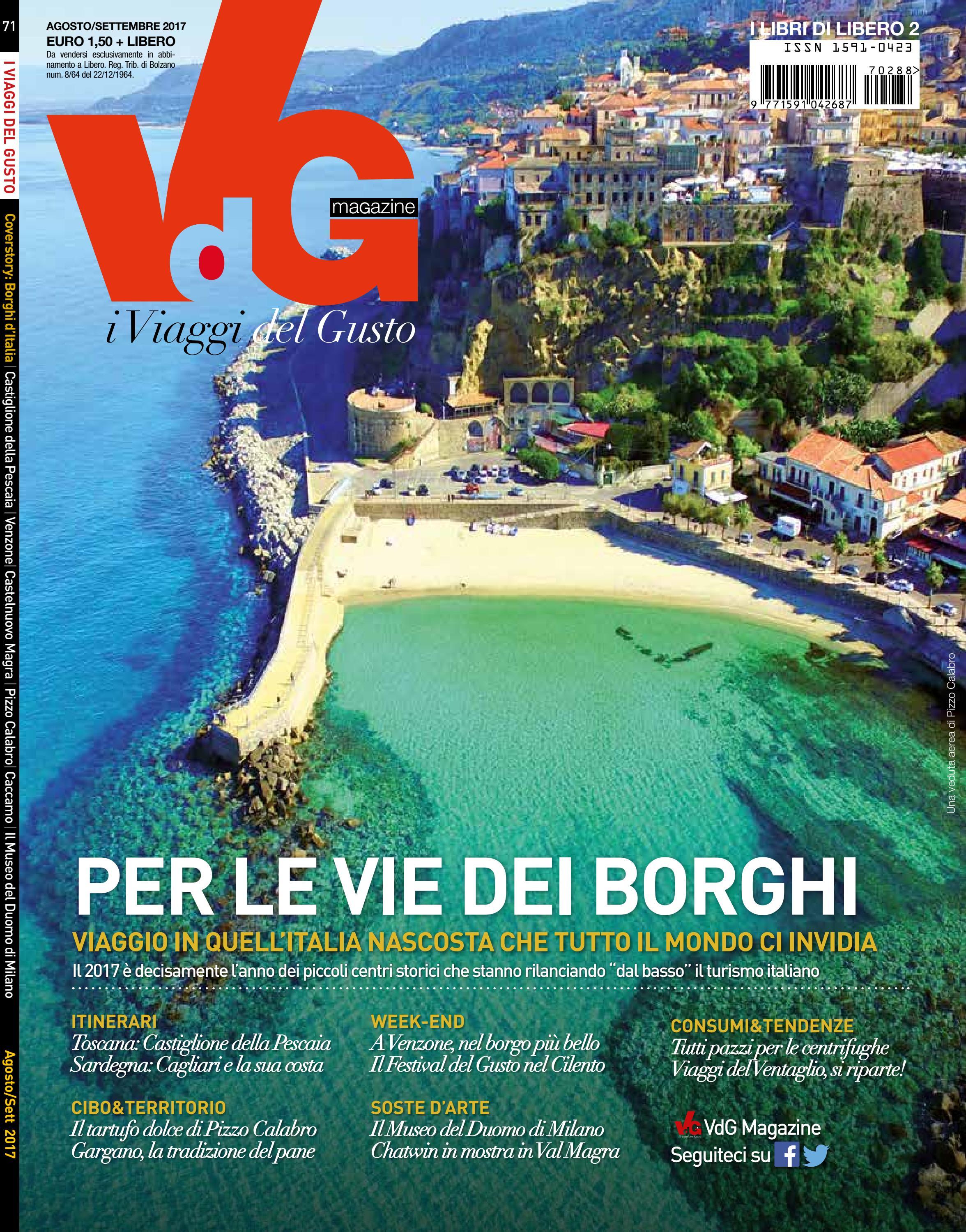 Vdg agosto settembre 2017 by vdgmagazine - issuu 8e1829170f5
