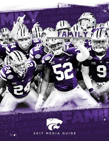3ad39cb5 2017 K-State Football Media Guide by K-State Athletics - issuu