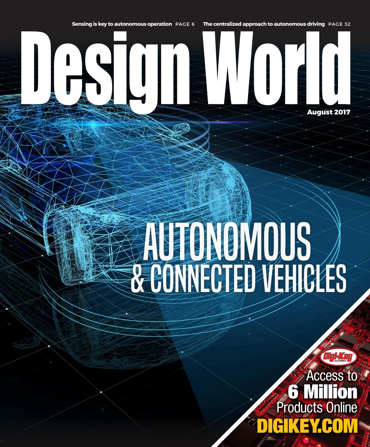 Autonomous Connected Vehicles August 2017 By Wtwh Media Llc Issuu Koa Speer Electronics Your Passive Component Partner