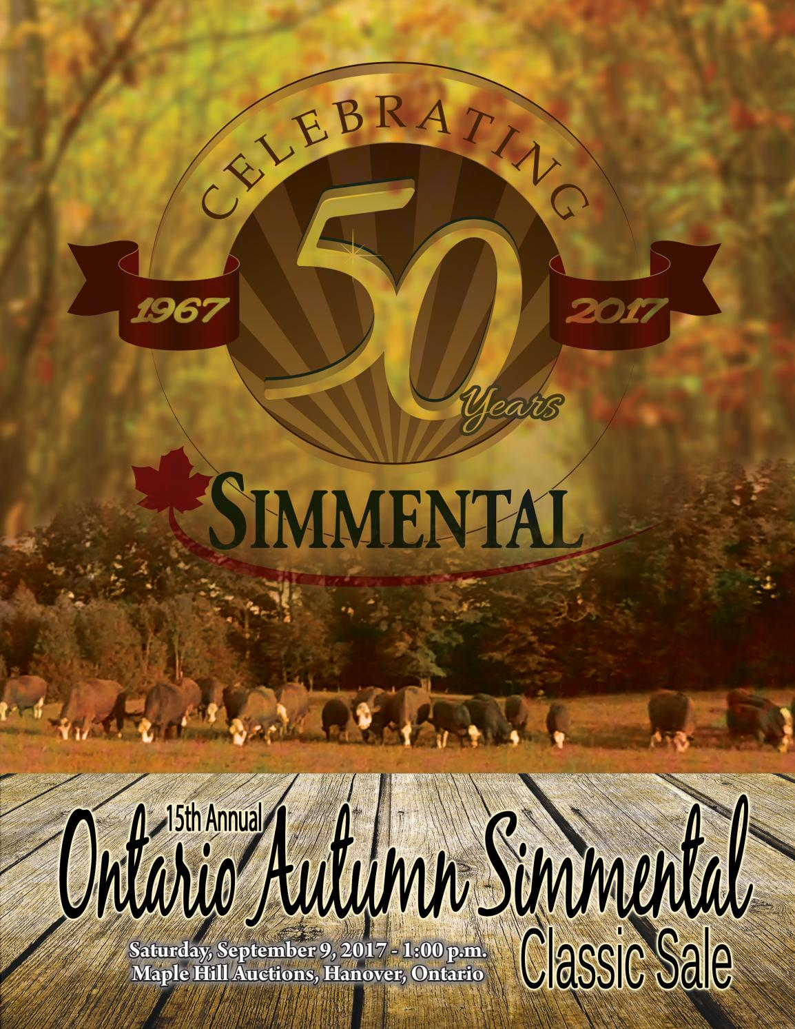 15th Annual Ontario Autumn Simmental Classic by Today's