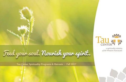 Tau Center Fall 2017 Program Guide