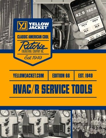 YELLOW JACKET 60325 Deluxe Ratchet Hand Bender Kit Includes The Reverse Bending Mandrel Ritchie Engineering Co.