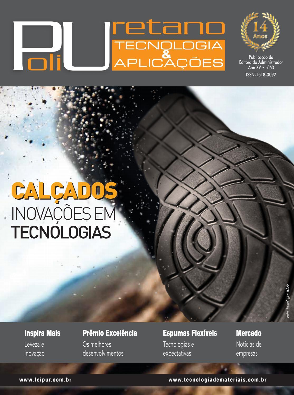 b49c319fff954 Revista Poliuretano - Tecnologia   Aplicações Ed.63 by Editora do  Administrador Ltda. - issuu