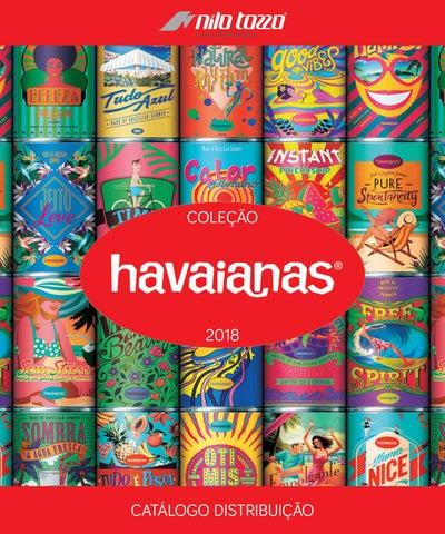 0df55c0a4 Catálogo Havaianas 2018 by Nilo Tozzo & Cia Ltda - issuu