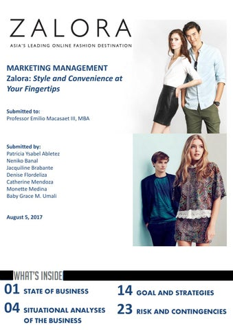 f336631b01cd80 MARKETING MANAGEMENT Zalora  Style and Convenience at Your Fingertips