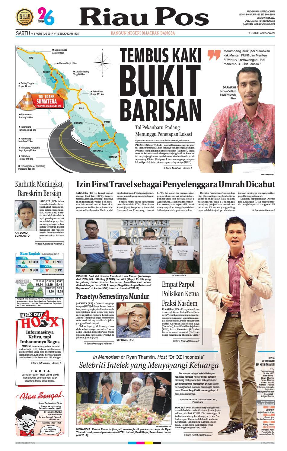 2017 08 05 By Riau Pos Issuu