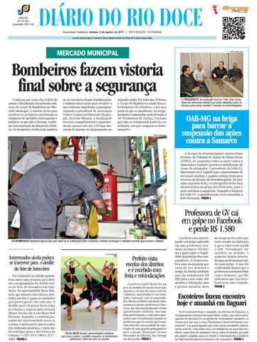 399012c3778 Diário do Rio Doce - Edição de 08 05 2016 by Diário do Rio Doce - issuu