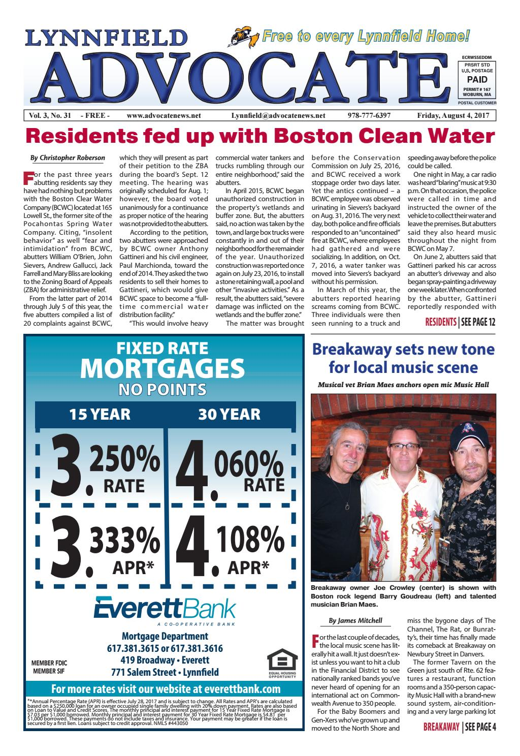 the lynnfield advocate u2013 friday august 4 2017 by mike kurov issuu