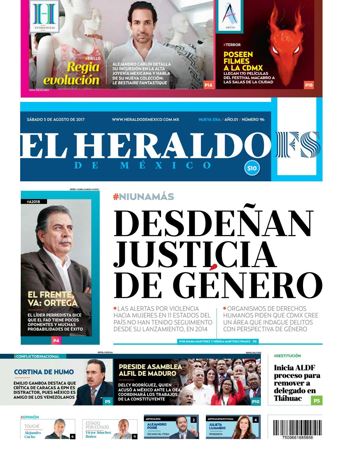 be13aa8688b7 El Heraldo de México 05 de Agosto de 2017 by El Heraldo de México - issuu