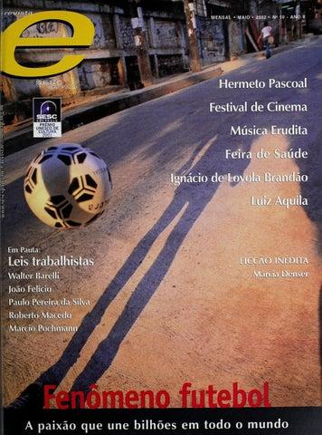 Revista E - Maio de 2002 - ANO 8 - Nº 10 by Sesc em São Paulo - issuu 5e06ca2655154