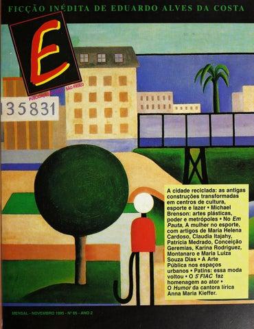 e87d01b5b14 Revista E - Novembro de 1995 - ANO 2 - Nº 5 by Sesc em São Paulo - issuu