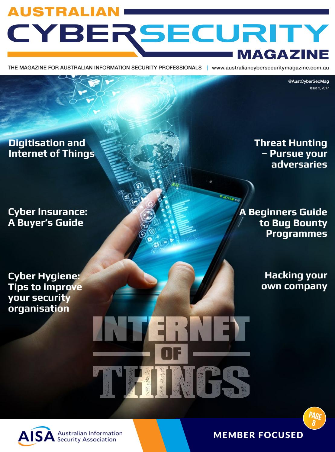 Australian Cyber Security Magazine Issue 2 2017 By Asia