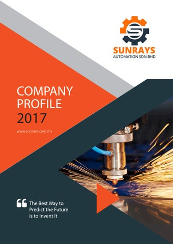 Company Profile Sunrays New By Vaunts Digital Solutions