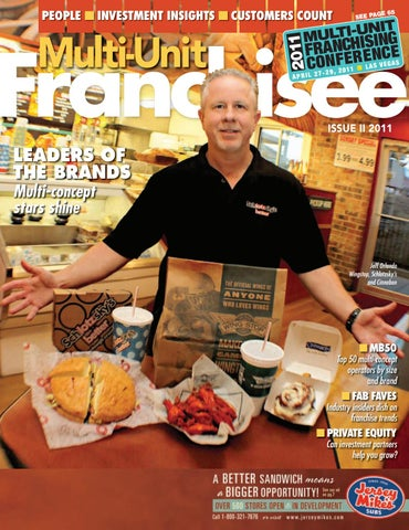 Multi Unit Franchisee Magazine Issue Ii 2011 By Franchise Update