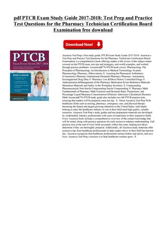 ptcb exam study guide by jhgyutrek - issuu