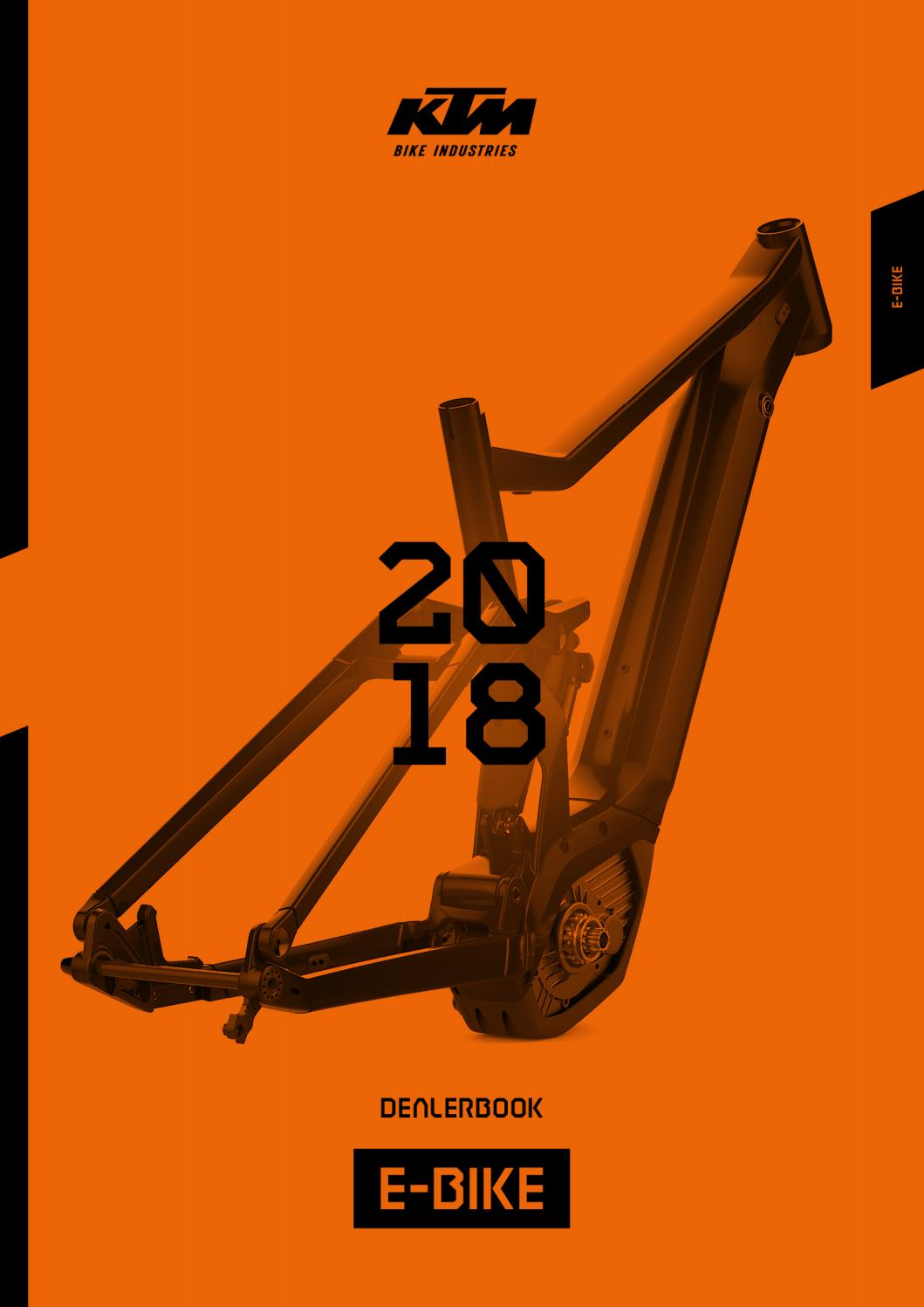 Ktm E Bike Dealerbook 2018 By Ktm Bike Industries Issuu