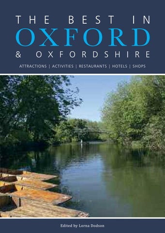e56429ed92 Best in Oxford 2017 by In Oxford - issuu