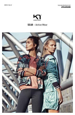 868c71dc Kari Traa SS18 ActiveWear Magasin by Mari Nylund - issuu