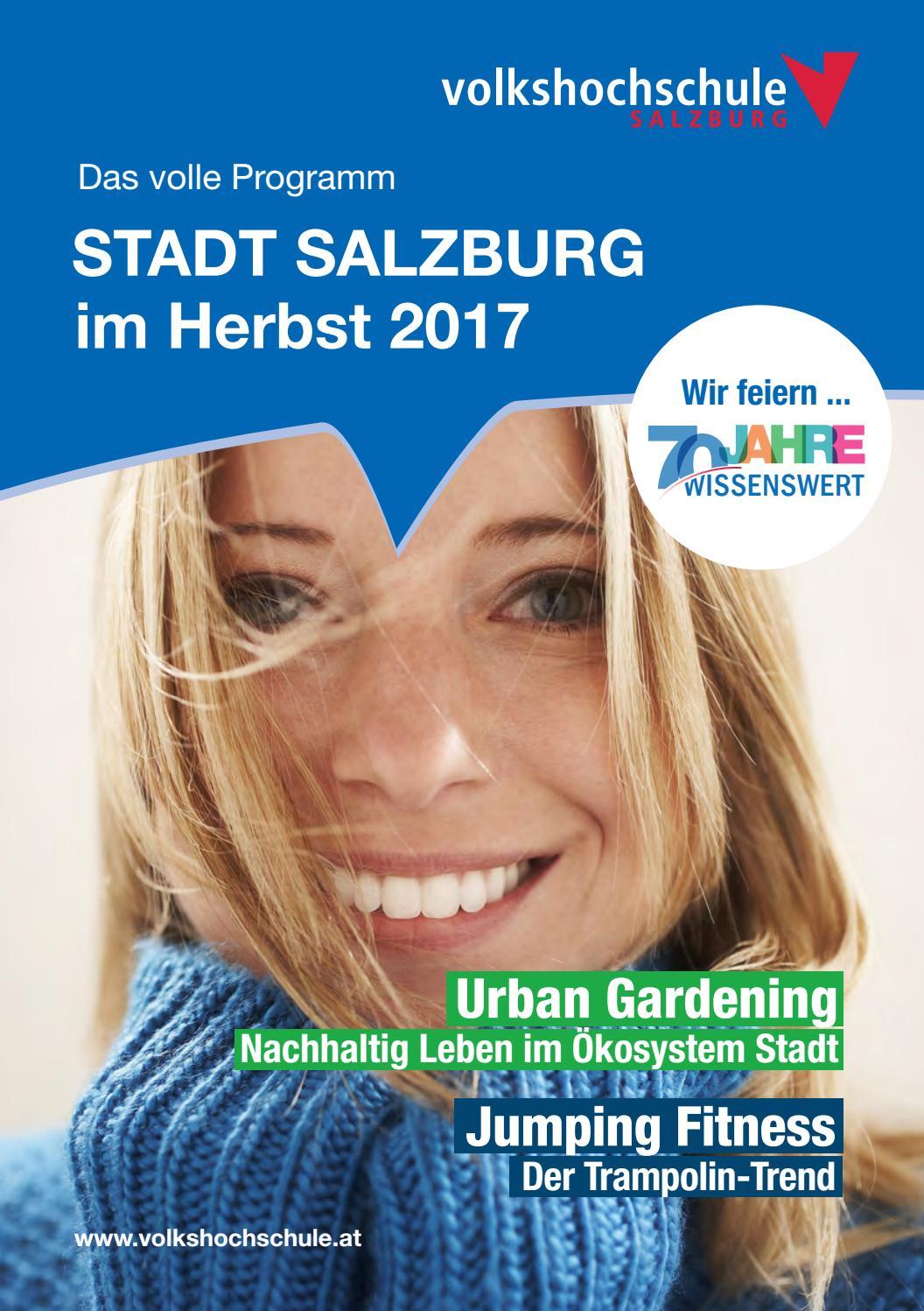 Programm Herbst 2017, Volkshochschule Salzburg Stadt Salzburg by ...