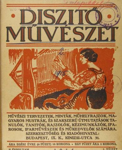 Díszítő Művészet 1915-1918 by MOME Konyvtar - issuu 1b406f782b