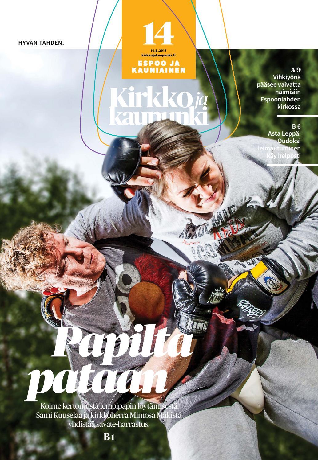 Kirkko ja kaupunki 2017 14 espoo by Kirkko ja kaupunki - Issuu