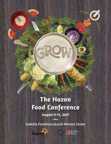 2017 Hazon Food Conference Program Book by Hazon - issuu