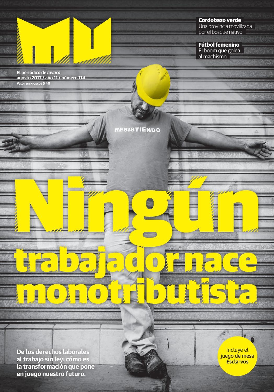 Mu 114: Ningún trabajador nace monotributista by Cooperativa ...