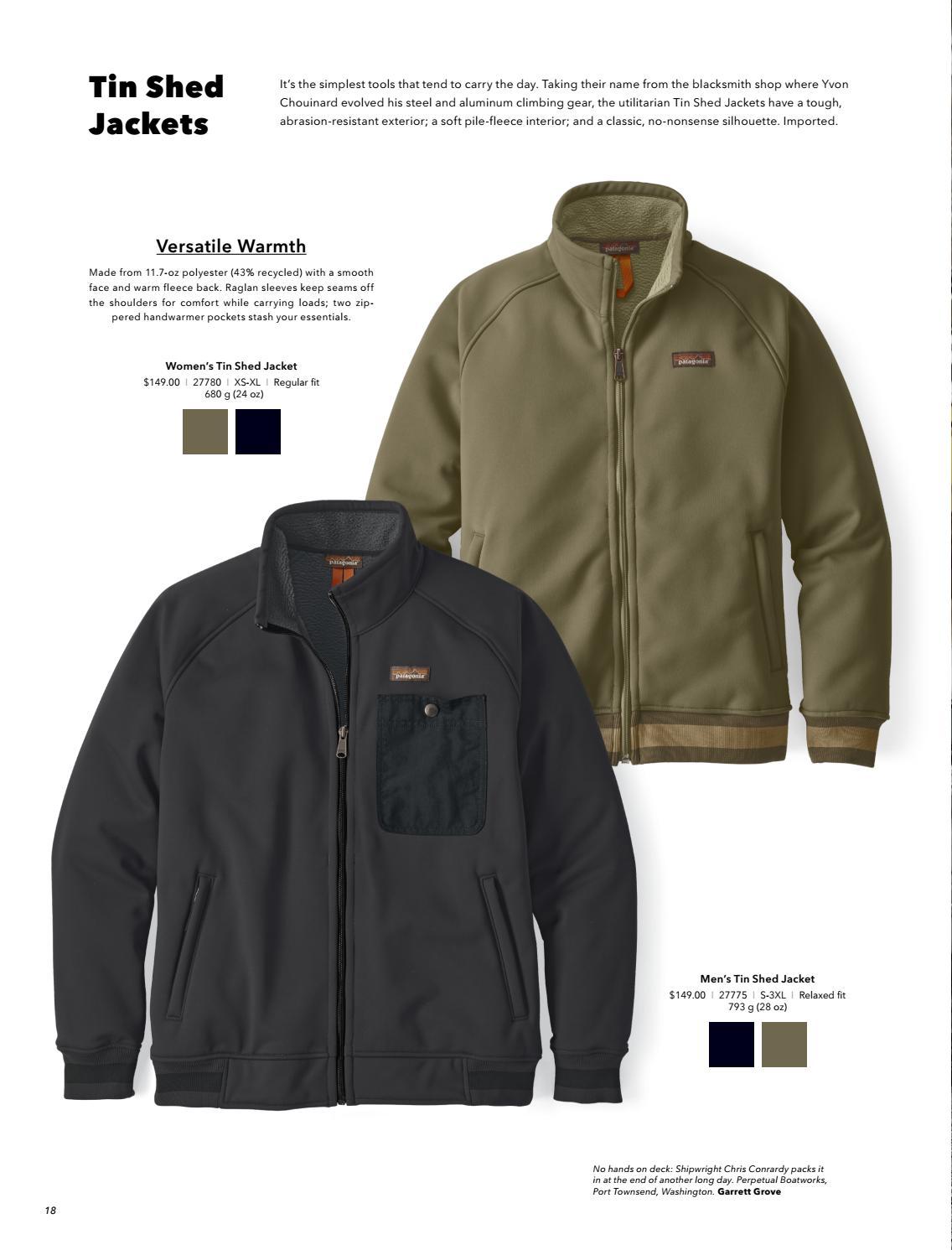 Patagonia Workwear 2017 Catalog U S By Patagonia The