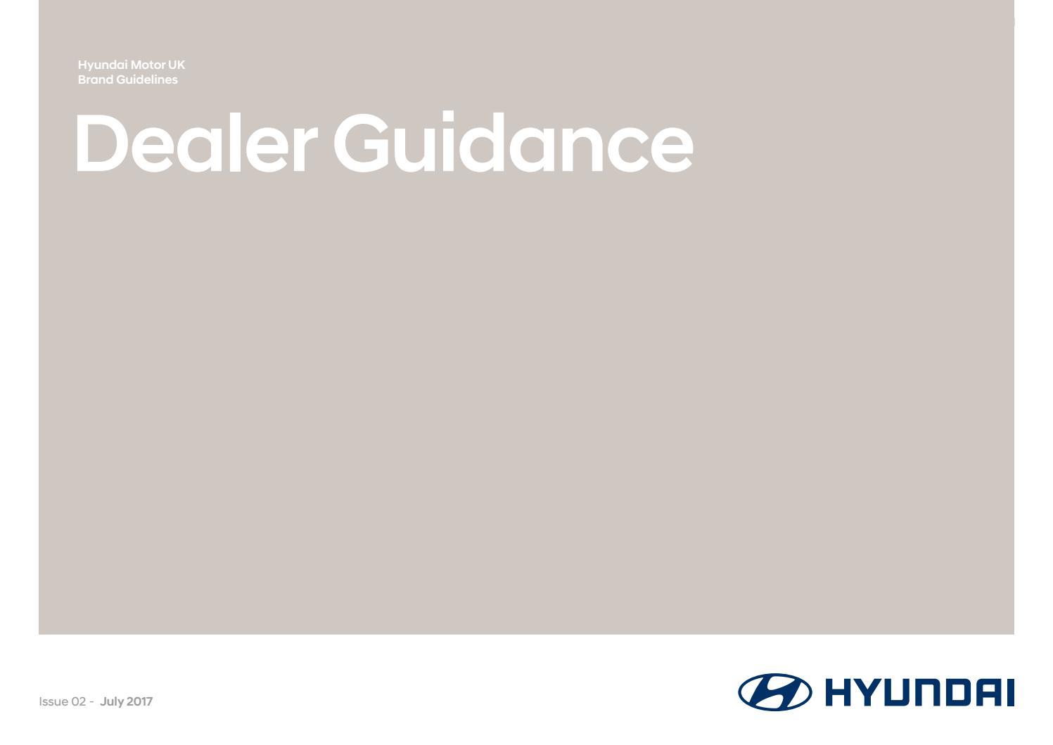 hyundai dealer uk brand guidelines by innocean worldwide issuu rh issuu com hyundai brand guidelines pdf hyundai brand guidelines