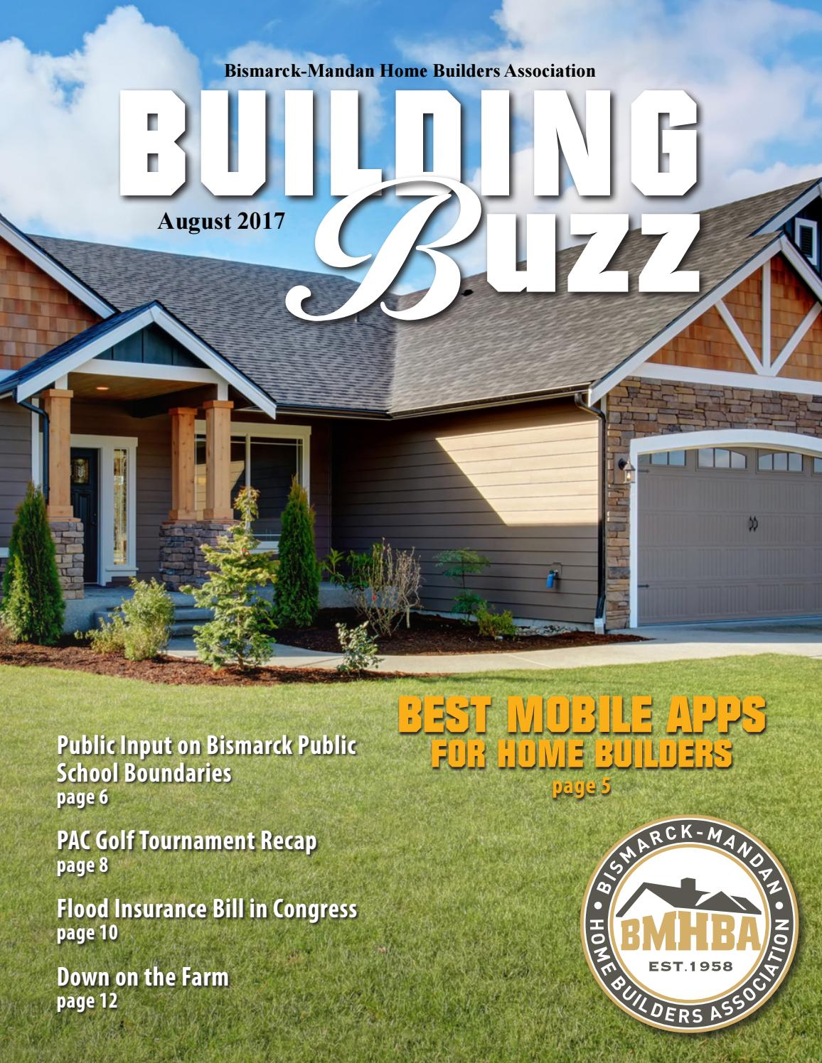August 2017 Building Buzz by Bismarck-Mandan Home Builders