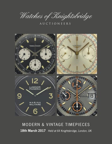 f94097902ab19 Watches of Knightsbridge 18th March by Auction Technology Group - issuu