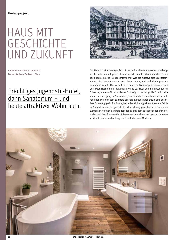 BadeWelten Magazin Herbst 2017 by Paul Ryser AG - issuu