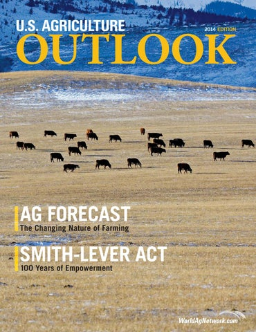 U S  Agriculture Outlook 2014 Edition by Faircount Media