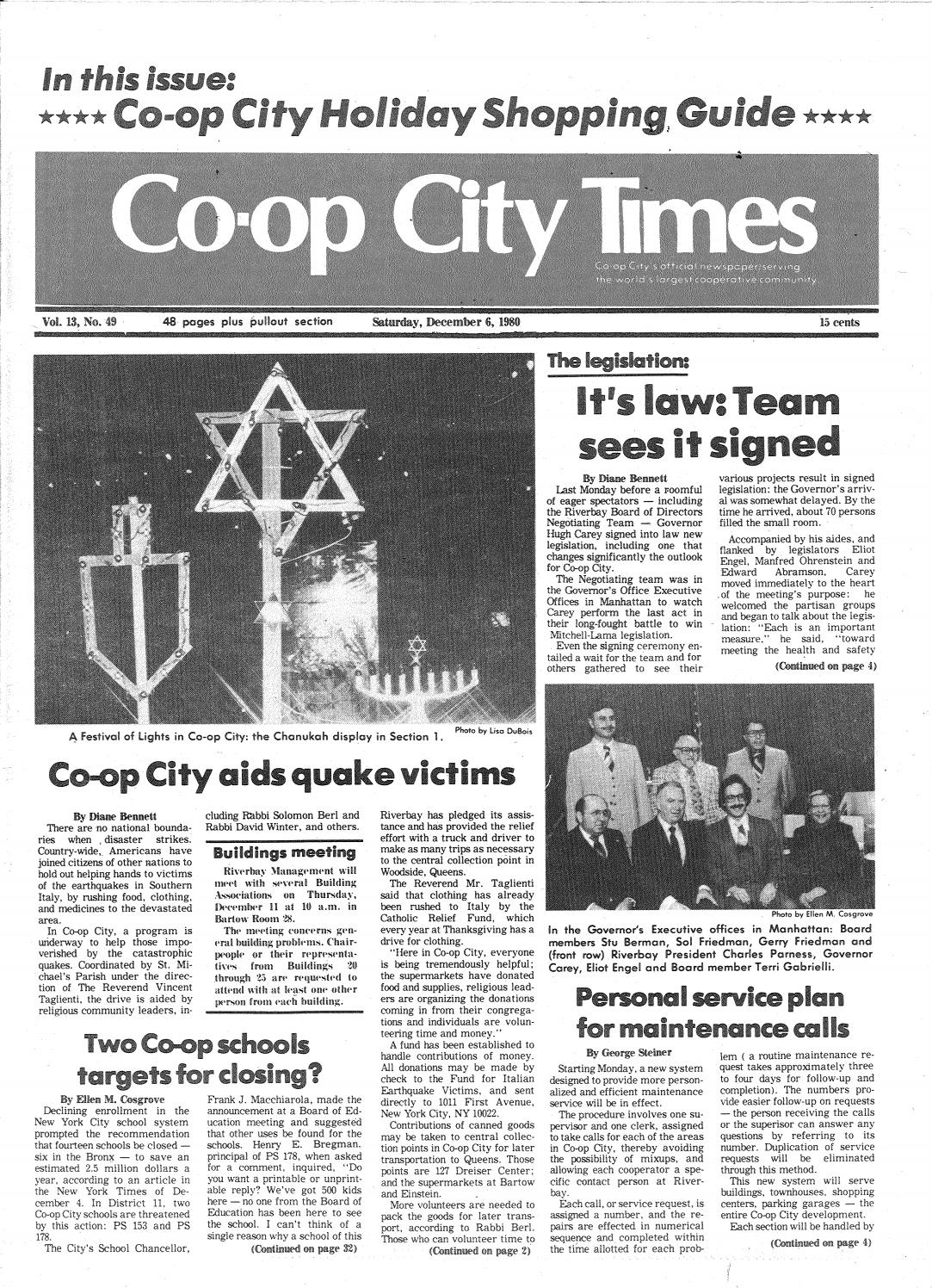 Co Op City Times 12 06 1980 By Co Op City Times Issuu