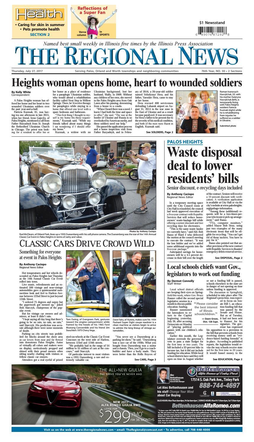 Regional news 7 27 17 by Southwest Regional Publishing - issuu