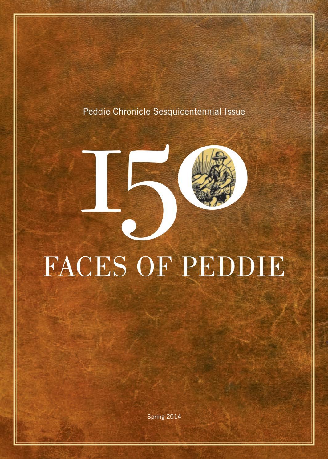 150 Faces of Peddie by Peddie School - issuu