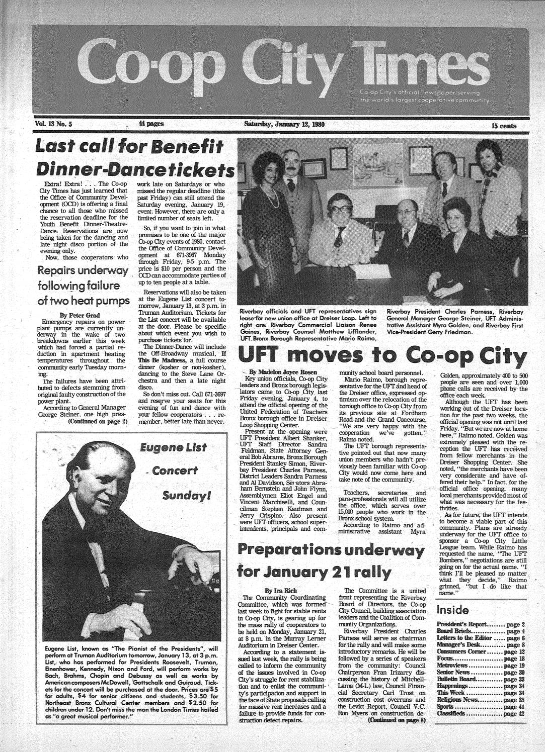 ee61ac4faf511 Co-op City Times 01 12 1980 by Co-op City Times - issuu