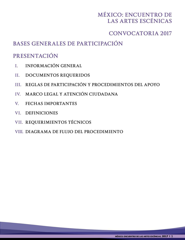 Programa México: Encuentro de las Artes Escénicas by IMCA Hermosillo ...