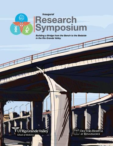 Inaugural SOM Research Symposium Program Booklet by UTRGV