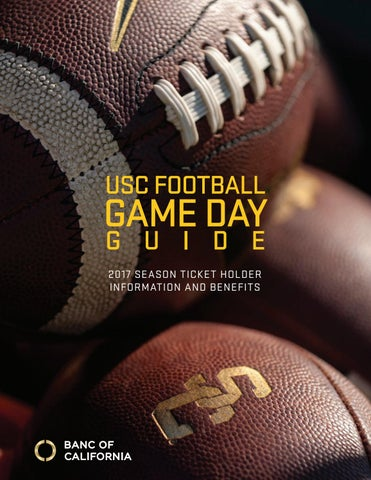 2017 Usc Football Gameday Guide By Usc Athletics Issuu