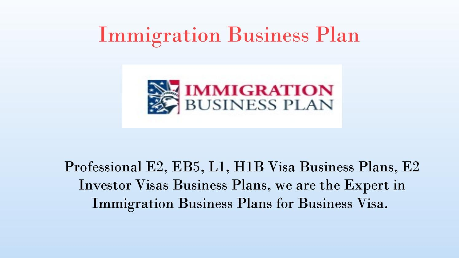 Immigration business plan by immigrationbusinessplan issuu accmission Image collections