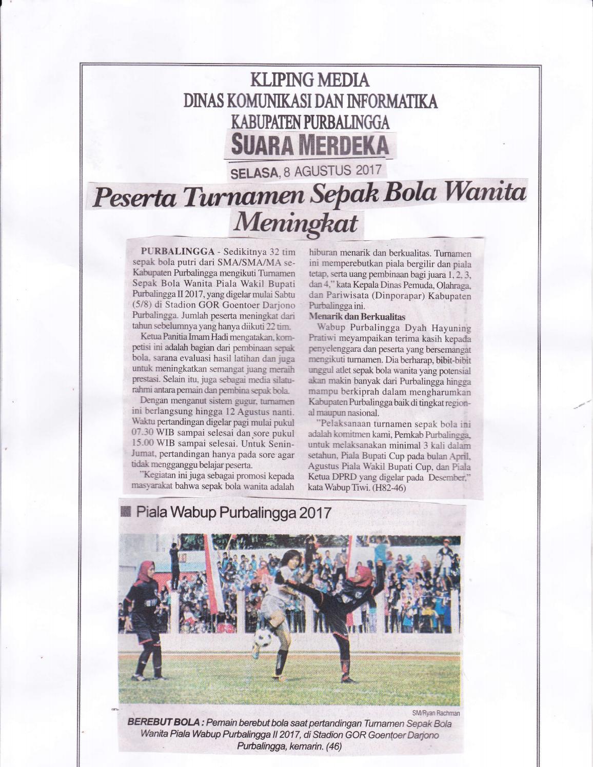 Contoh Kliping Olahraga Futsal